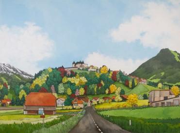 Road to Gruyere by Jonathan Chapman