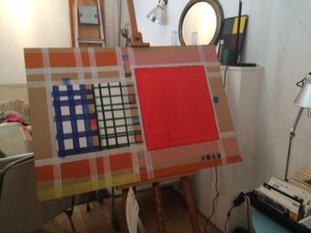 Helena Krähenbühl Paper and Acrylic